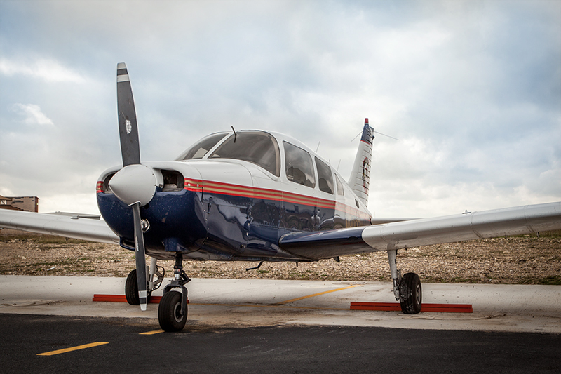 Delta Qualiflight plane