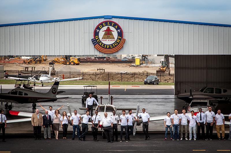 Delta Qualiflight's staff